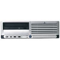 Calculator HP DC7100, SFF, Intel Pentium 4, 2.80 GHz, 1GB DDR, 80GB SATA, DVD-ROM