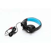 Casti SPACER SPC-819 cu microfon, stereo, jack 3.5mm, gaming, black