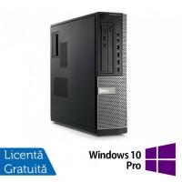 Calculator Refurbished DELL GX790 Desktop, Intel Pentium Dual Core G640, 2.80 GHz, 4 GB DDR 3, 250GB SATA, DVD-ROM + Windows 10 Pro