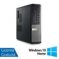 Calculator Refurbished DELL GX790 Desktop, Intel Pentium Dual Core G640, 2.80 GHz, 4 GB DDR 3, 250GB SATA, DVD-ROM + Windows 10 Home