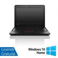 Laptop Refurbished LENOVO Thinkpad x131E, AMD E2-1800 1.70GHz, 4GB DDR3, 320GB SATA, 11.6 inch + Windows 10 Home
