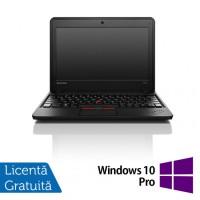Laptop Refurbished LENOVO Thinkpad x131E, AMD E2-1800 1.70GHz, 4GB DDR3, 320GB SATA, 11.6 inch + Windows 10 Pro
