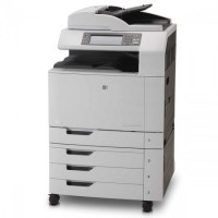 Multifunctionala Second Hand Laser Color A3, HP CM6030 MFP, Copiator, Scanner, Fax, ADF, Retea