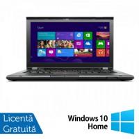 Laptop Refurbished LENOVO ThinkPad T430, Intel Core i5-3320M 2.6GHz, 8GB DDR3, 128GB SSD, 1600x900 + Windows 10  Home