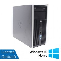 Calculator HP 6200 PRO Tower, Intel Core i5-2400 3.10 Ghz, 8GB DDR3, 500GB SATA, DVD-RW + Windows 10 Home