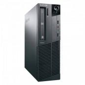 Calculator LENOVO M81P, SFF, Intel Pentium Dual Core G850, 2.90GHz, 4GB DDR3, 250GB SATA, Second Hand Calculatoare