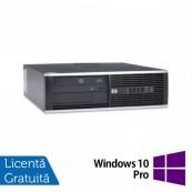 Calculator HP 6000 Pro Desktop, Intel Celeron Dual Core E3400 2.60GHz, 4GB DDR3, 250GB SATA, DVD-ROM + Windows 10 Pro, Refurbished Calculatoare