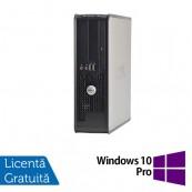 Calculator Dell 780 Desktop, Intel Pentium E5300 2.60GHz, 4GB DDR3, 320GB SATA, DVD-ROM + Windows 10 Pro