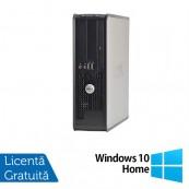 Calculator Dell 780 Desktop, Intel Pentium E5300 2.60GHz, 4GB DDR3, 320GB SATA, DVD-ROM + Windows 10 Home