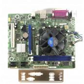 Placa de baza Intel DH61WW, Socket 1155, 2x DDR3, cu Shield + CPU Intel Core i7-2600 3.40GHz + Cooler