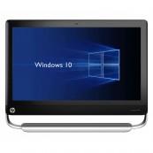 All In One HP TouchSmart Elite 7320, 21.5 Inch Full HD LED, Intel Core i3-2120 3.30GHz, 4GB DDR3, 500GB SATA, DVD-ROM, Webcam, Fara picior