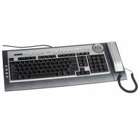 Tastatura Modecom MC-9001 cu telefon pentru Skype