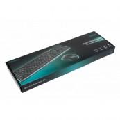 Kit Tastatura + Mouse SPACER SPDS-S6201, Qwerty, USB, 1000 - 2000 dpi, Negru