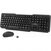Kit Tastatura + Mouse Wired Delux, KA150U+M321BU, USB, negru, mouse optic Periferice