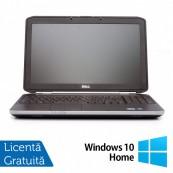 Laptop DELL Latitude E5520, Intel Core i5-2410M 2.30GHz, 4GB DDR3, 250GB SATA, DVD-RW, 15.6 Inch + Windows 10 Home