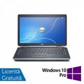 Laptop DELL Latitude E6430, Intel i5-3320M 2.60GHz, 4GB DDR3, 320GB SATA, DVD-RW + Windows 10 Pro