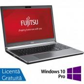 Laptop FUJITSU SIEMENS Lifebook E753, Intel Core i5-3230M 2.60GHz, 8GB DDR3, 120GB SSD, DVD-RW, 15.6 Inch, Tastatura Numerica, Fara Webcam + Windows 10 Pro