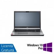 Laptop FUJITSU SIEMENS Lifebook E754, Intel Core i7-4600M 2.90GHz, 8GB DDR3, 320GB SATA, 15.6 Inch + Windows 10 Pro