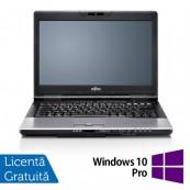 Laptop FUJITSU SIEMENS S752, Intel Core i5-3210M 2.50GHz, 4GB DDR3, 320GB SATA, DVD-ROM, 14 Inch + Windows 10 Pro