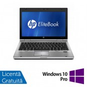 Laptop HP EliteBook 2560p, Intel Core i5-2540M 2.60GHz, 8GB DDR3, 320GB SATA, DVD-RW, 12 Inch + Windows 10 Pro