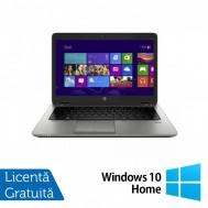 Laptop HP EliteBook 820 G1, Intel Core i5-4300U 1.90GHz, 4GB DDR3, 120GB SSD, 12.5 Inch, Webcam + Windows 10 Home