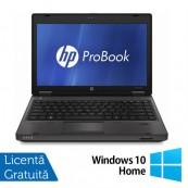 Laptop HP ProBook 6360B, Intel Core i5-2410M 2.30GHz, 4GB DDR3, 320GB SATA, DVD-RW, 13 Inch + Windows 10 Home, Refurbished Laptopuri