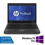 Laptop HP ProBook 6360B, Intel Core i5-2410M 2.30GHz, 4GB DDR3, 320GB SATA, DVD-RW, 13 Inch + Windows 10 Pro, Refurbished Laptopuri