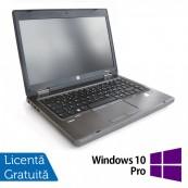 Laptop HP ProBook 6465b, AMD A4-3310MX 2.10GHz, 4GB DDR3, 320GB SATA, DVD-RW + Windows 10 Pro