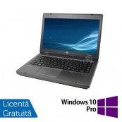 Laptop HP ProBook 6475b, AMD A4-4300M 2.50GHz, 4GB DDR3, 320GB SATA, DVD-RW, 14 Inch + Windows 10 Pro