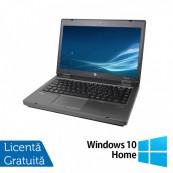 Laptop HP ProBook 6475B, AMD A4-4300M 2.70GHz, 4GB DDR3, 320GB SATA, DVD-RW + Windows 10 Home
