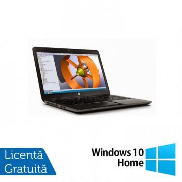 Laptop Hp Zbook 14 G2, Intel Core i7-5500U 2.40GHz, 16GB DDR3, 240GB SSD, 14 inch, IPS + Windows 10 Home, Refurbished