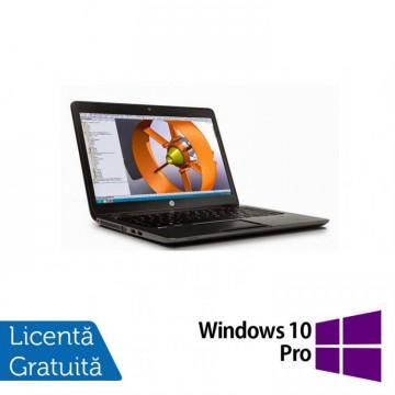 Laptop Hp Zbook 14 G2, Intel Core i7-5500U 2.40GHz, 16GB DDR3, 240GB SSD, 14 inch, IPS + Windows 10 Pro, Refurbished