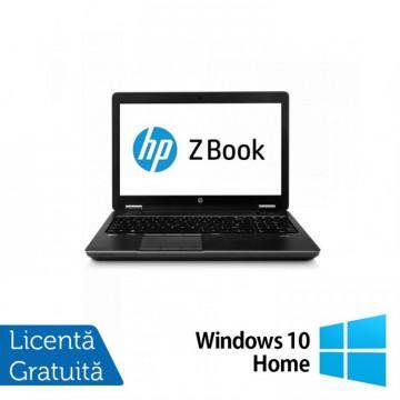 Laptop Hp Zbook 14, Intel Core i7-4600U 2.10GHz, 8GB DDR3, 240GB SSD, 14 inch + Windows 10 Home, Refurbished