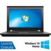Laptop Lenovo ThinkPad L430, Intel Core i5-3220M 2.60GHz, 4GB DDR3, 320GB SATA, DVD-RW, 14 Inch + Windows 10 Home