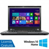 Laptop LENOVO ThinkPad T430, Intel Core i5-3210M 2.50GHz, 4GB DDR3, 320GB SATA, DVD-RW, 14 Inch, Webcam + Windows 10 Home