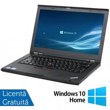Laptop LENOVO ThinkPad T430s, Intel Core i5-3320M 2.60GHz, 8GB DDR3, 120GB SSD + Windows 10 Home, Refurbished
