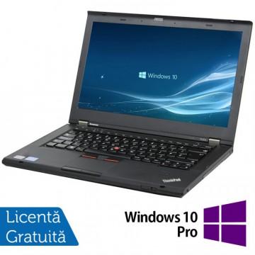 Laptop LENOVO ThinkPad T430s, Intel Core i5-3320M 2.60GHz, 8GB DDR3, 240GB SSD + Windows 10 Pro, Refurbished