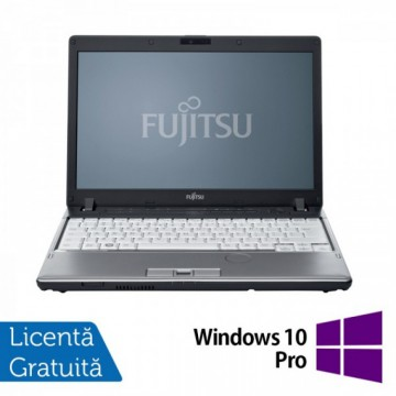 Laptop Refurbished FUJITSU SIEMENS P701, Intel Core i3-2310M 2.10GHz, 4GB DDR3, 160GB HDD + Windows 10 Pro Laptopuri