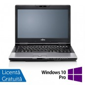 Laptop Refurbished FUJITSU SIEMENS S752, Intel Core i3-3110M 2.40GHz, 8GB DDR3, 320GB SATA, DVD-RW + Windows 10 Pro