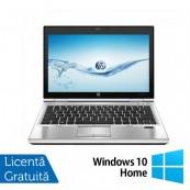 Laptop Refurbished Hp EliteBook 2570p, Intel Core i5-3230M 2.60Ghz, 4GB DDR3, 128 GB SSD, DVD-RW, 12,5 inch LED-backlit HD, DisplayPort, Webcam + Windows 10 Home