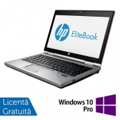 Laptop Refurbished Hp EliteBook 2570p, Intel Core i7-3520M 2.90GHz, 8GB DDR3, 120GB SSD, DVD-RW, 12.5 Inch + Windows 10 Pro Laptopuri