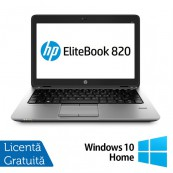 Laptop Refurbished HP Elitebook 820 G2, Intel Core i7-5500U 2.40GHz, 8GB DDR3, 240GB SSD, Webcam, 12 Inch + Windows 10 Home Laptopuri