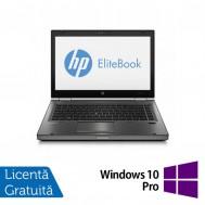Laptop Refurbished HP EliteBook 8470p, Intel Core i5-3210M 2.50 GHz, 8GB DDR 3, 500GB SATA, DVD-RW, 14 inch LED + Windows 10 Pro