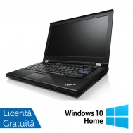 Laptop Refurbished Lenovo T420, Intel Core i5-2520M 2.50GHz, 8GB DDR3, 240GB SSD, DVD-RW + Windows 10 Home