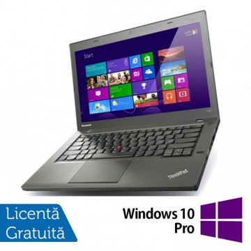Laptop Refurbished LENOVO ThinkPad T440P, Intel Core i5-4200M 2.5GHz, 4GB DDR3, 256 GB SSD, DVD-RW + Windows 10 Pro Laptopuri