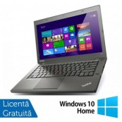 Laptop Refurbished Lenovo ThinkPad T440s, Intel Core i7-4600U 2.10GHz, 8GB DDR3, 240GB SSD, 14 Inch + Windows 10 Home Laptopuri