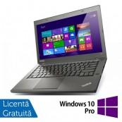 Laptop Refurbished Lenovo ThinkPad T440s, Intel Core i7-4600U 2.10GHz, 8GB DDR3, 240GB SSD, 14 Inch + Windows 10 Pro Laptopuri