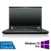 Laptop Refurbished LENOVO ThinkPad T530, Intel Core i5-3320M 2.60 GHz, 8GB DDR3, 120GB SSD, DVD-RW + Windows 10 Pro