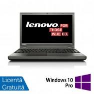 Laptop Refurbished LENOVO ThinkPad T540P, Intel Core i5-4300U 1.90 GHz, 8GB DDR3, 500GB SATA, 15 Inch + Windows 10 Pro