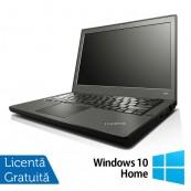 Laptop Refurbished LENOVO Thinkpad x240, Intel Core i5-4300U 1.90GHz, 8GB DDR3, 128GB SSD + Windows 10 Home Laptopuri